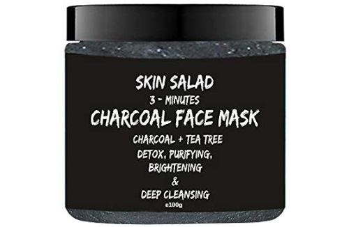 SkinSalad Activated Charcoal Face Mask