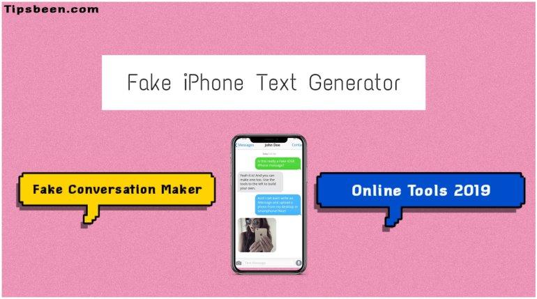 Fake iPhone text generator 2019