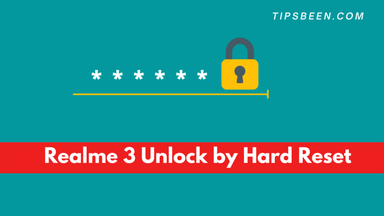 Realme 3 Unlock by Hard Reset