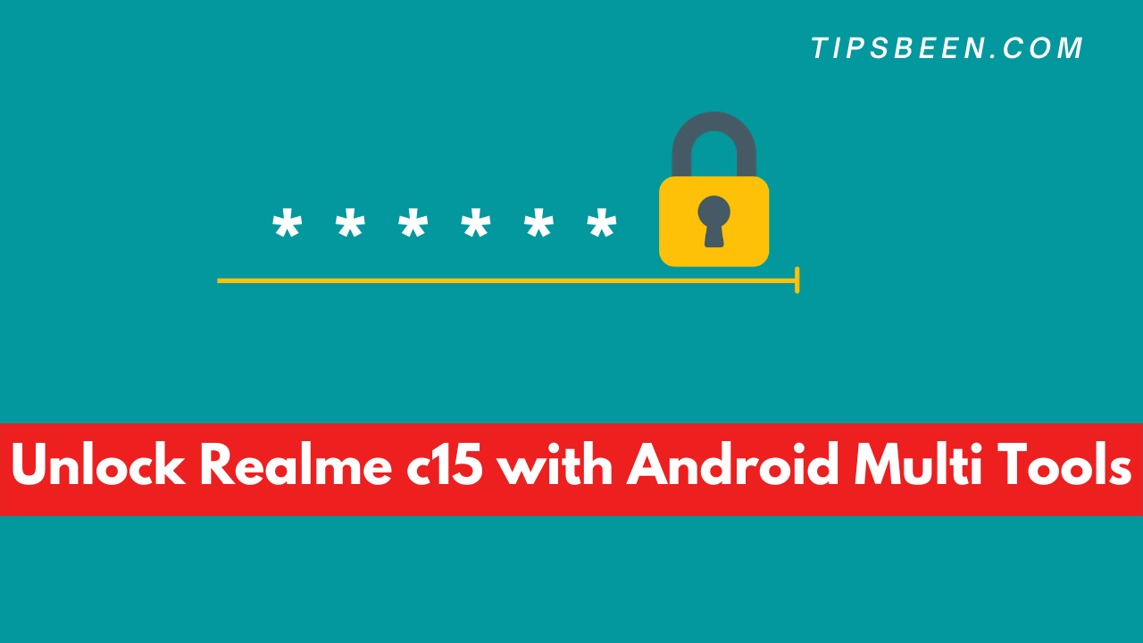 Unlock Realme c15 with Android Multi Tools