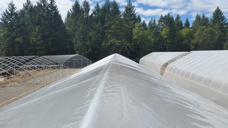 Rain cover Greenhouse
