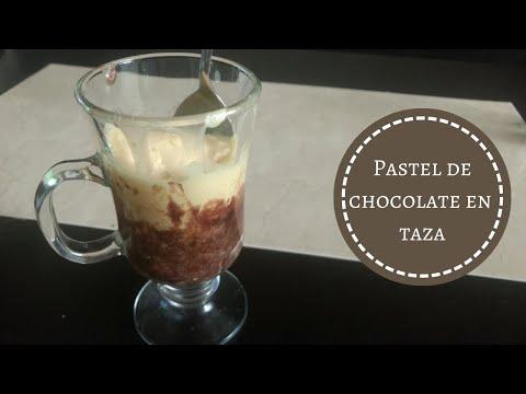 Pastel en Taza – Cake in a mug