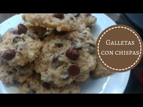 Como hacer galletas con chispas de chocolate (chocochips)