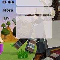 Invitaciones de Minecraft para imprimir