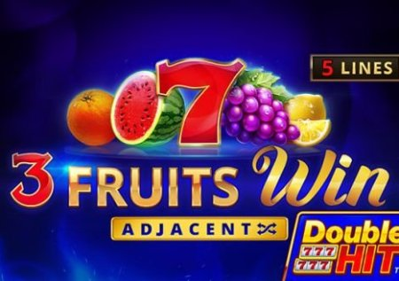 3 Fruits Win: Double Hit Slot