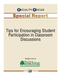icon for Tips for Encouraging Student Participation In Classroom Discussions