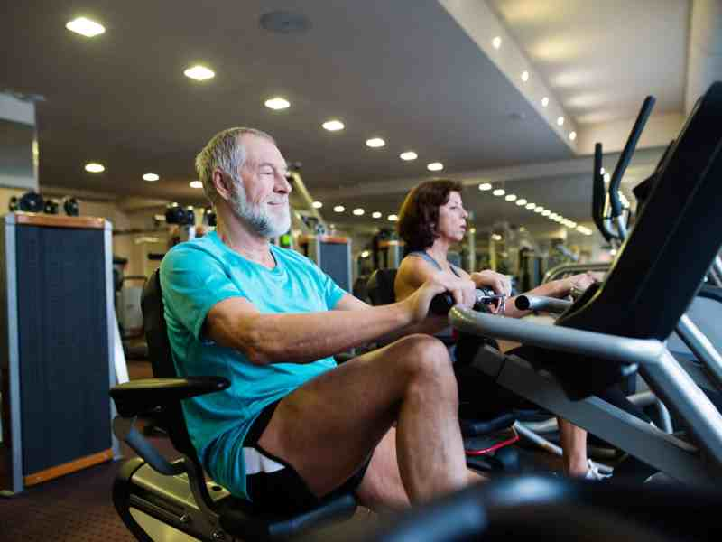 Recumbent Exercise Bike for Elderly