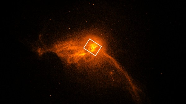 first black hole image captured by nasa