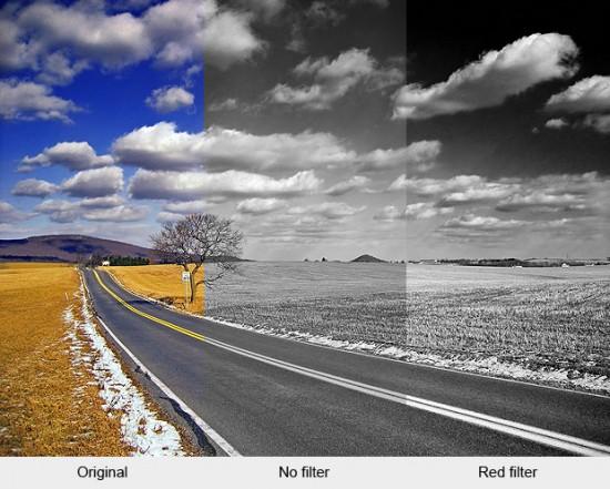 Contoh Foto BW Menggunakan Filter Merah
