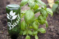 wine-bottle-garden-marker