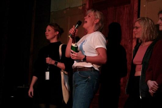 Julia Szymik und Hannah Geheimsein gewinnen den TIPS Fem Slam