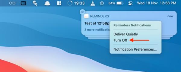 Hình 1 về Cách tắt thông báo nhanh của ứng dụng trên Mac