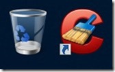 How to hide the Text of Desktop Icons in Windows 7