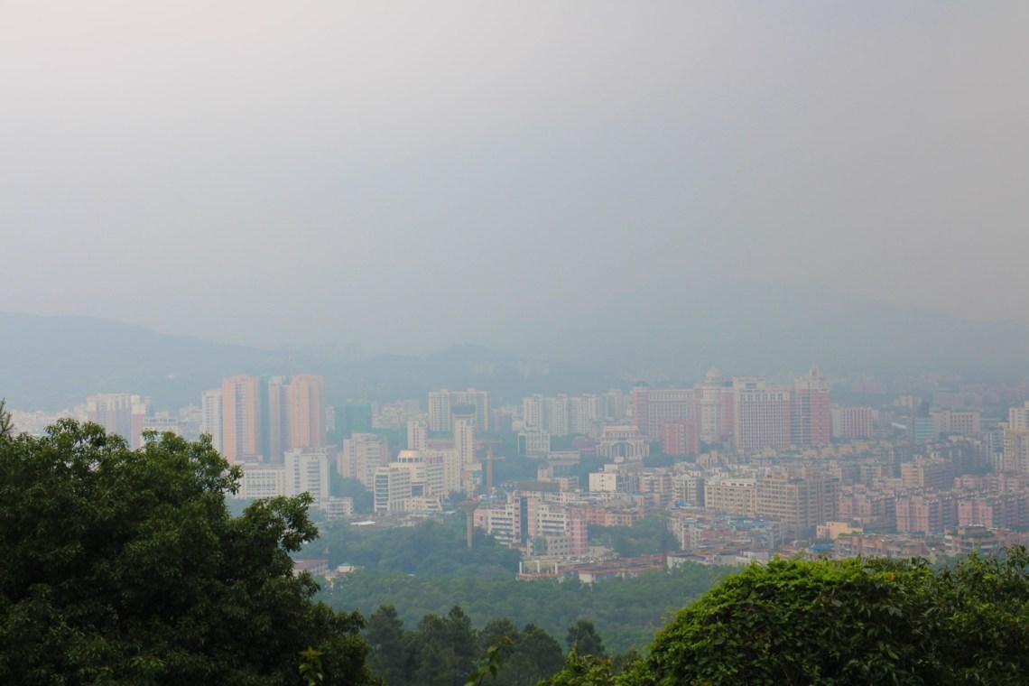 city guangzhou from top
