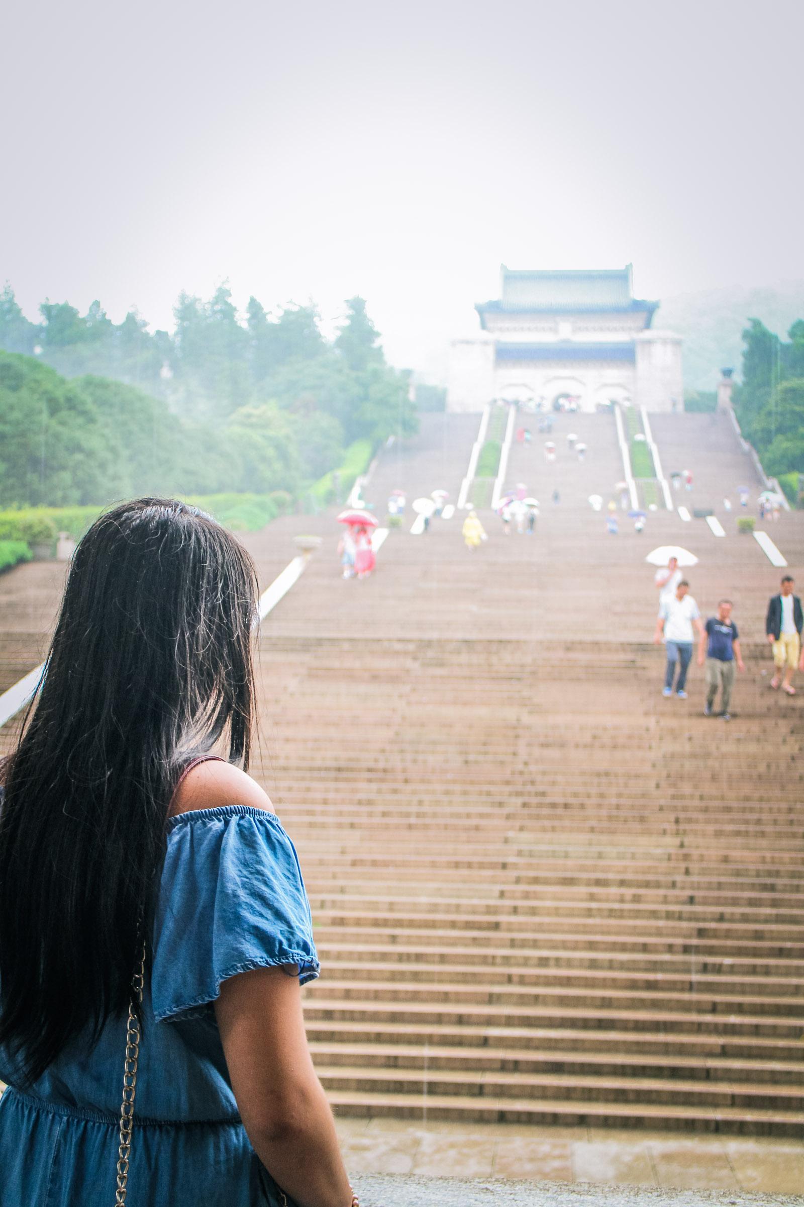 karen wen sun yat-sen mausoleum nanjing