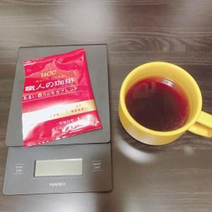 UCC モカブレンド ドリップバッグコーヒー 淹れたコーヒー