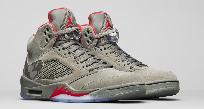 """low cost 14b46 88942 Air Jordan 5 """"Camo""""    Release Date"""