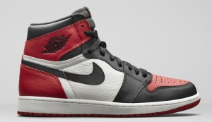 """d1938ccdb81f Air Jordan 1 Retro High OG """"Bred Toe"""" Color  Gym Red Black-Summit White  Style Code  555088-610. Release Date  February 24"""