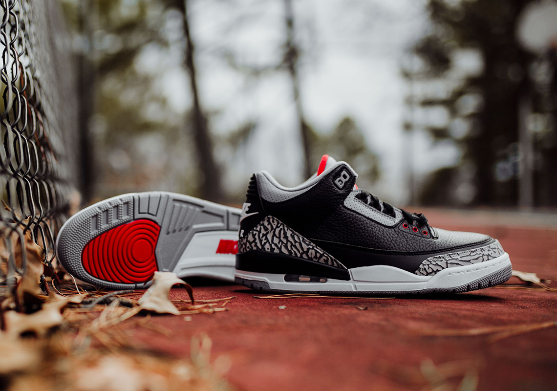 separation shoes 79d4b 1995f Air Jordan 3 Black Cement – Full Sizing + Price Info – TIP ...