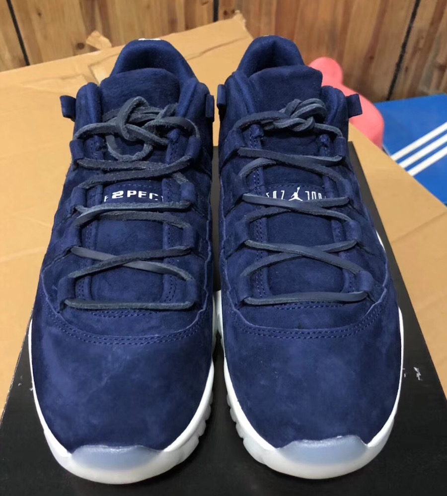 AIr Jordan 11 Low Jeter RE2PECT AV2187-441
