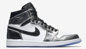 """b7ab3a13ab54 Air Jordan 1 High """"Pass The Torch"""" Color  Chrome White-Turbo Green-Black Style  Code  AQ7476-016. Release Date  April 28"""