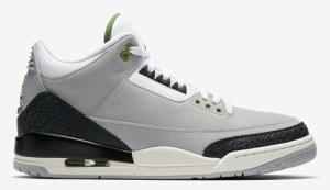 "7f0e1b5f9f6d Air Jordan 3 Tinker ""Chlorophyll"" Color  Light Smoke Grey Chlorophyll-Black-White-Sail  Style Code  136064-006. Release Date  November 10"
