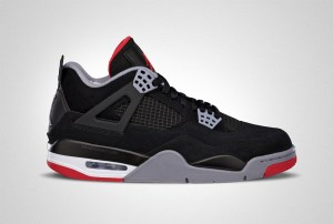 "cheap for discount 56eb7 691ab Air Jordan IV ""Bred"" Color  Black Cement Grey Summit White Fire Red Style  Code  308497-060 Release Date  May 4, 2019 Price   200 Protect Yours With  Sole ..."