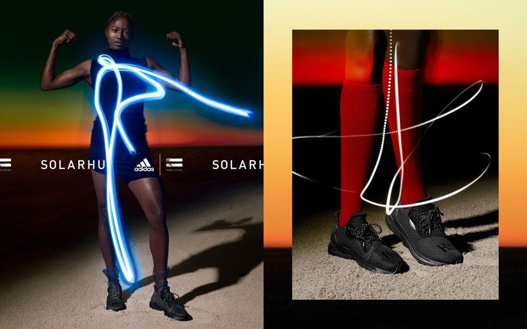 adidas by Pharrell Williams  SolarHu Greyscale Collection Kicks