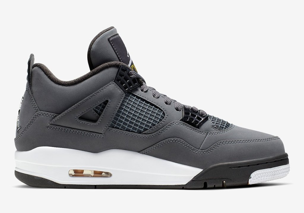 "Official pictures of the Air Jordan 4 ""Cool Grey"""