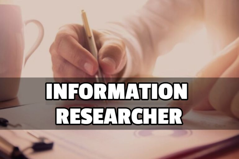 INFORMATION RESEARCHER