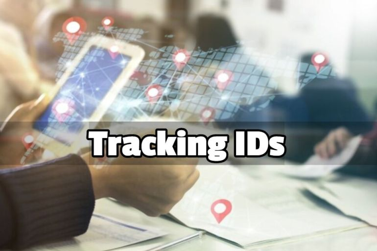 Tracking ids
