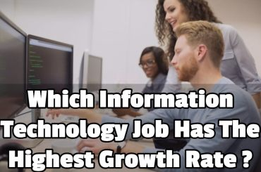which information technology job has the highest growth rate