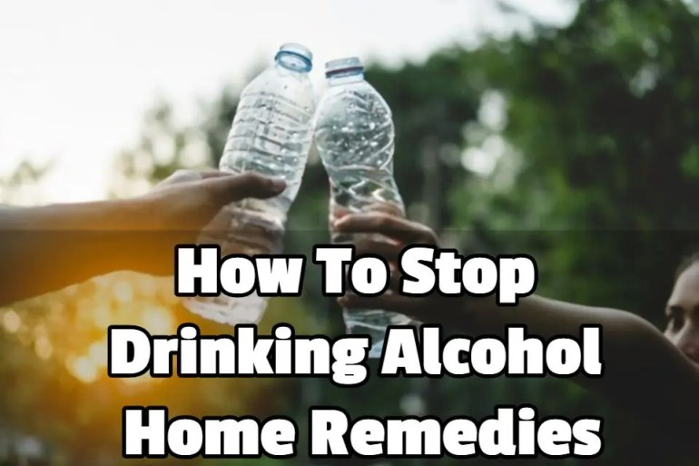 what is the bestway to stop drinking