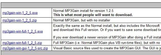 mp3 gain full installer