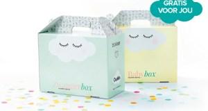 Gratis zwangerschapsbox en babydozen