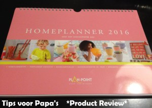 * Product Review * Homeplanner 2016