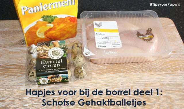 schotse gehaktballetjes ingrediënten