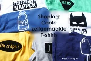 """Shoplog: coole """"zelfgemaakte"""" t-shirts"""