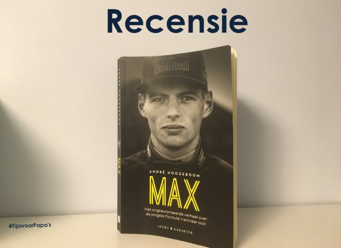 recensie Max Verstappen boek formule 1