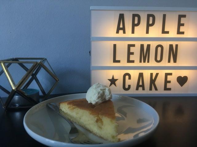 appelcake met twist gebak citroen gember