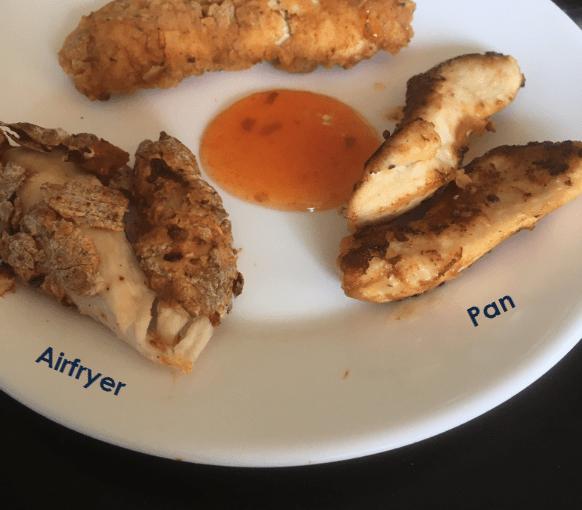 Homemade Trio KFC Kip