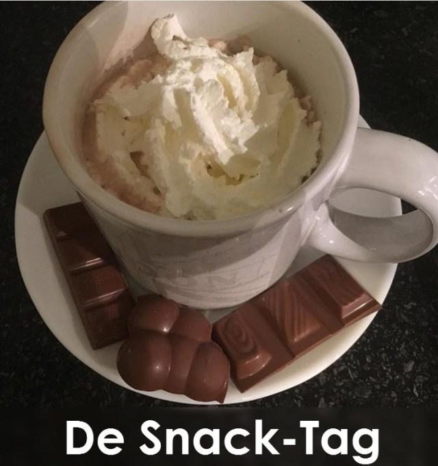 Snack Tag chocolade melk slagroom