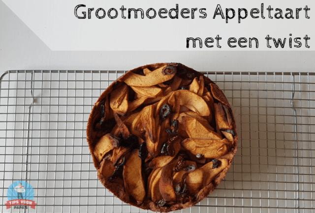 Grootmoeders Appeltaart zelfgeplukt appels fruittuin appelplukdagen