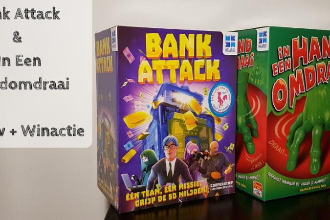 Bank Attack - In Een Handomdraai Spelletjes Sinterklaas Feestdagen