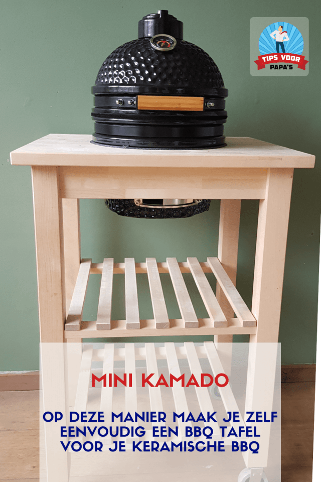 Barbecue tafel zelf maken Ikea Bekvam
