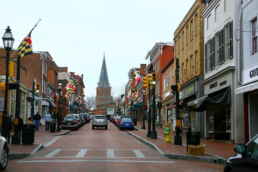 Annapolis, MD downtown