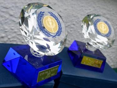 Glass prizes