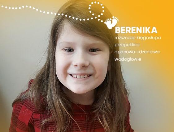 Niech rozszczep kręgosłupa nie decyduje o sprawności Bereniki