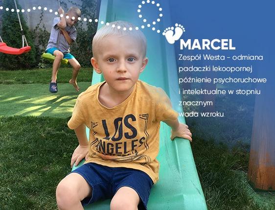 Marcelek urodził się jako zdrowy chłopiec