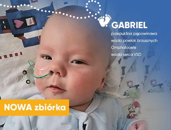 Rodzice Gabrysia walczą o wszystko, a Ty w tej walce możesz im pomóc